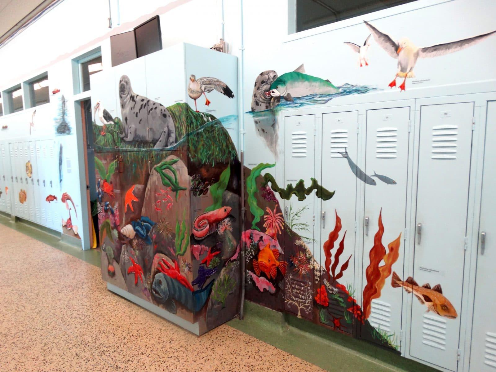 <strong>Projet Saint-Laurent : mon école, mon fleuve</strong> <br>Crédit&nbsp;photo&nbsp;: Caroline Jacques